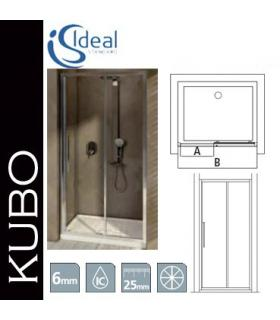 Bathroom dustbin Colombo collection black&white