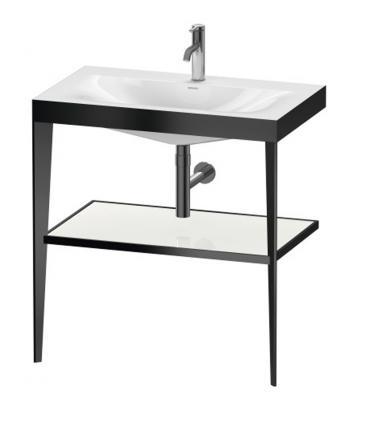 Flaminia Efi 6015/C Kit de finition melangeur d'ecoulement pour reservoir 6008, chrome