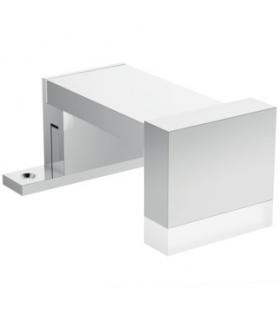Siphon and column for bathtub with overflow, Geberit