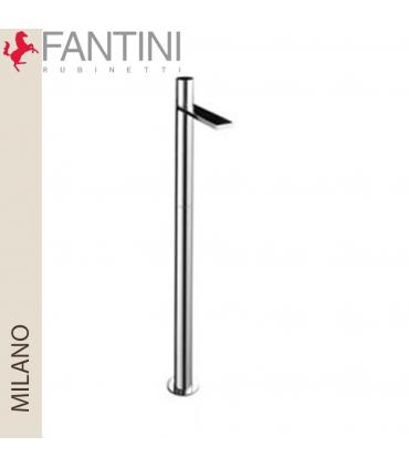 Siphon and bathtub column with discharge Geberit PushControl