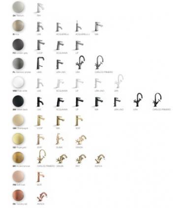 Demi-colonnes compacte    pour achèvement lavabo, Duravit, collection delrastyl