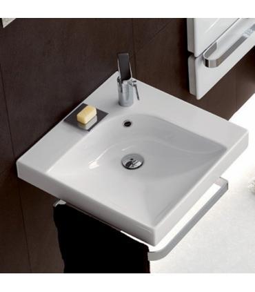 staffe per lavabo sospeso Flaminia Acquagrande art.AQ04