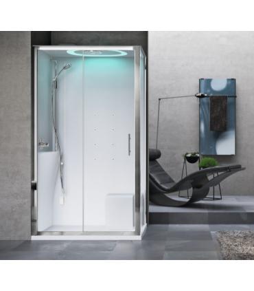 Porte coulissante a 3 ante pour cabine de douche connect/P