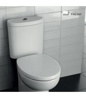 Toilet seat made of resin slim Flaminia collection Quick-App