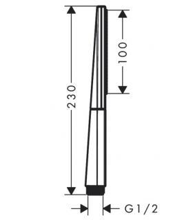 Griglia vasca/doccia colombo porta oggetti b9614 cromo.