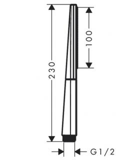 Shower-bathtub grid mixer colombo items holder b9614 chrome.