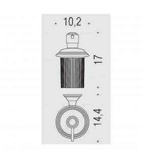 Single hole mixer for bidet Grohe collection concetto
