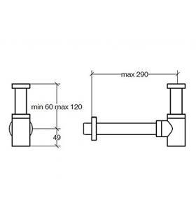 Wall hung toilet, Simas collection LFT Spazio