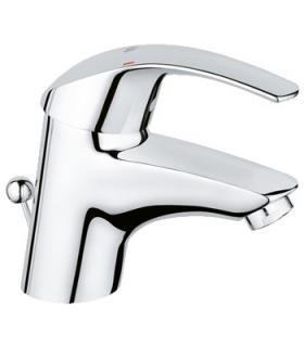 Washbasin mixer with drain, Grohe Eurosmart