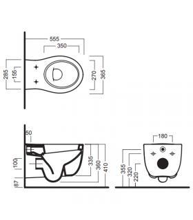 Miscelatore monoforo per lavabo Idealstandard serie trias art.A5070AA