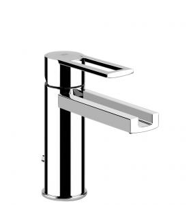Mixer for washbasin with cascade spout, Gessi, Riflessi