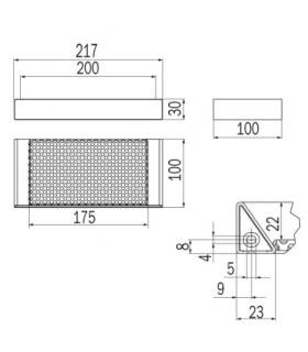 Water inlet for shower set, Grohe collection Rainshower