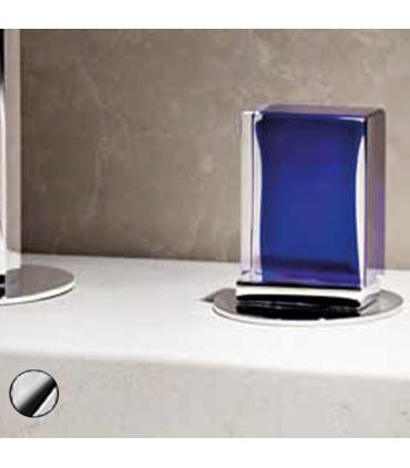 Handle chromand vanity with glass Murano Fantini Venezia