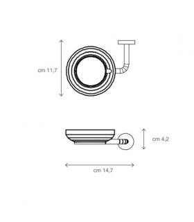 Mixer and round spout for sink Grohe collection Minta