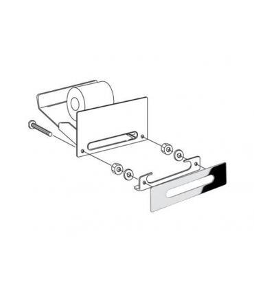 Handle made of crystal Fantini Venezia, base chrome