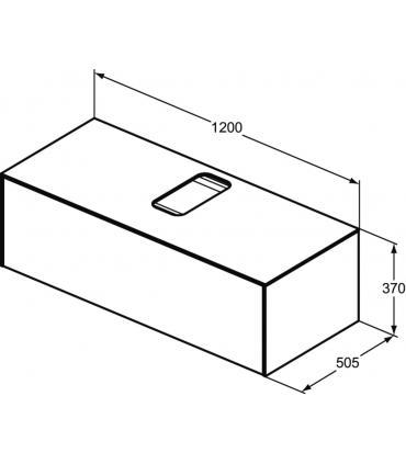 Cistern for toilet close-coupled, Simas collection Arcade