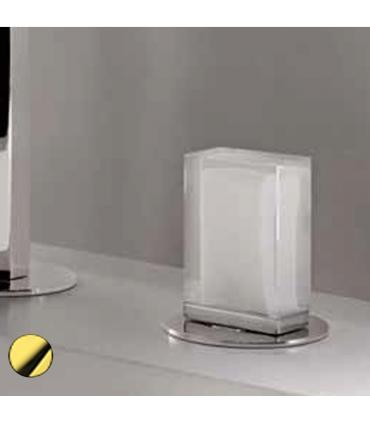 Handle with base gold with glass Murano Fantini Venezia