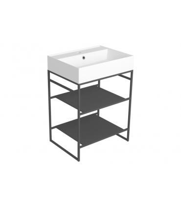 maniglia in cristallo Fantini Venezia, base oro art.N646CB