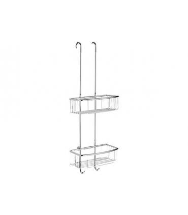 Handland vanity nickel with glass Murano Fantini Venezia