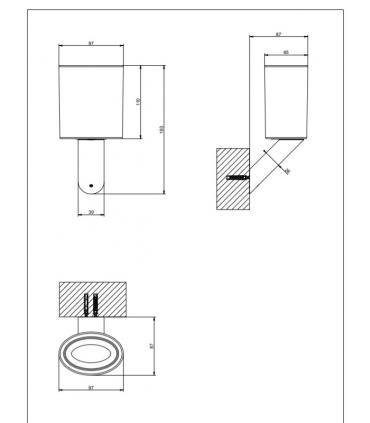 maniglia in cristallo Fantini Venezia, base cromo art.N646CB