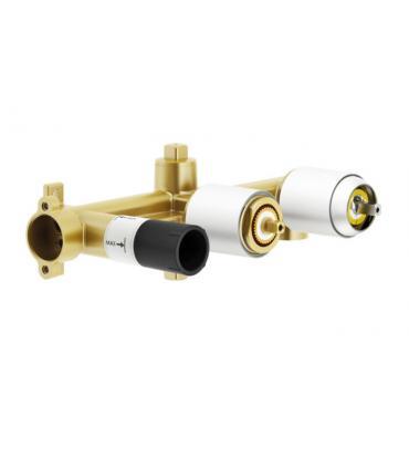 maniglia base nickel con vetro di murano Fantini Venezia art95N448CB