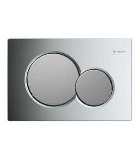 Flush plate with 2 buttons, Geberit Sigma01