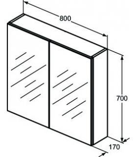 Bathroom stool colombo collection complements b9988 white.