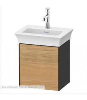 Wall mounted bidet single hole hidden screws HATRIA collection Fusion