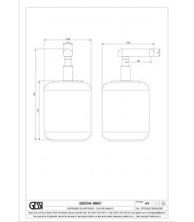 Band for massage Loofah, Koh-I-Noor collection cura del corpo