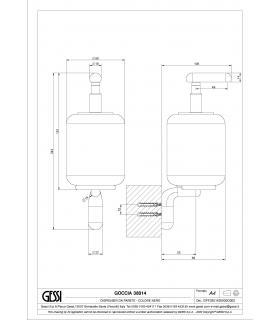 Parte esterna miscelatore doccia Talis S2 Hansgrohe art.32675000