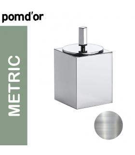 GESSI Water inlet and support for hand shower collection Emporio Via Bagutta chrome