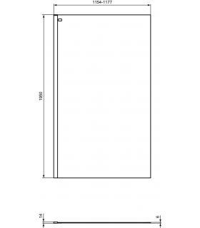 Freestanding bathtub Arbi Kuvet 170x70 made of Tekno