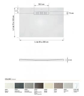 Pomme de douche 2 jets collection Croma Select Hansgrohe