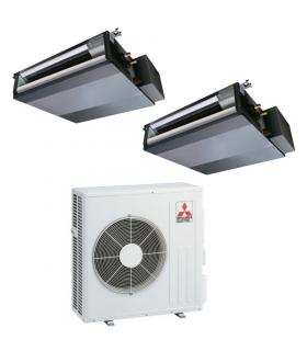Air-conditioning canal compact R32 dualsplit SEZ inverter