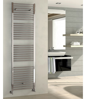 Ares IRSAP towel radiator, chrome