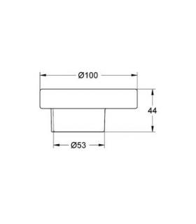 Kit 4 pipes Extension 1 meter for water heater or boiler, collection blu IMMERGAS 3.011583
