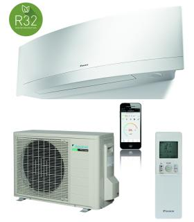 Monosplit system, Daikin collection Emura gas R32