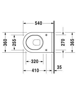 Copy of armoire salle de bain Duravit Durastyle pour double lavabo 2 tiroirs