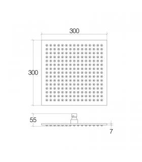 Hot tub right Duo white chrome nozzles with frame