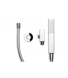 Panier a'linge, collection beta, collection Sesti, modèle e 707, a' sac avec poignées, couleur gris