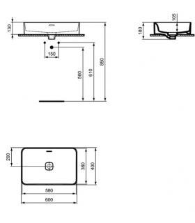 Internal mosaic tiles  Marazzi Chalk 30X30