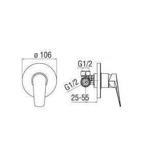 External tile  Marazzi Pietra Occitana 20X40