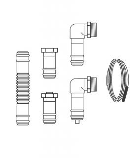 Kit connection 2 VFK (135/2 VD - 140/2 VD) Vaillant 0020143731