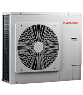 Pompa di calore aria-acqua Immergas Audax monofase inverter art.3.0278