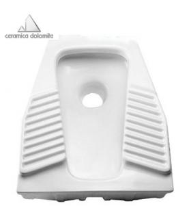 Squatting toilet 50x60 cm Dolomite articles for communities art.J497801