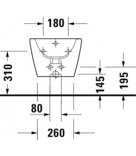 Blind plate with pneumatic drive Grohe Surf art.37059000