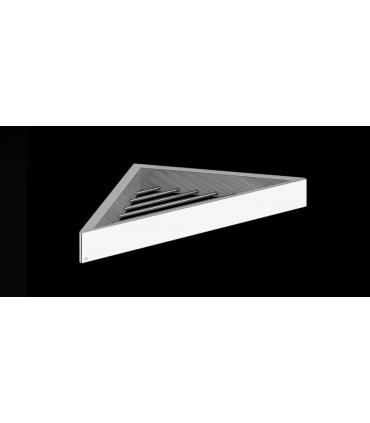 Demi-colonnes pour achèvement lavabo, céramique Dolomite, collection Gemma 2