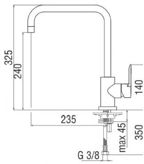 Complete drain for Shower tray LIF.RO with drain e drain cover round HATRIA collection LIF