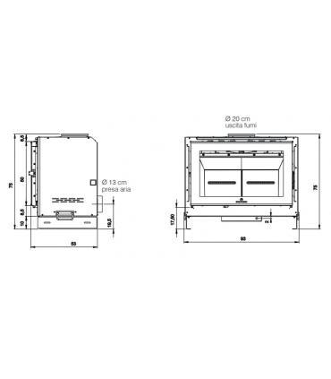 Support de fixation mural pour Flaminia Miniwash