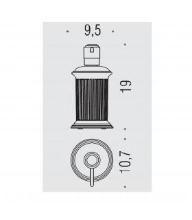 Siphon pour receveur douche avec bonde 90, Geberit,